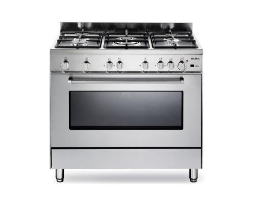 Κουζίνα φυσικού αερίου 90 εκ.ELBA ΑΝΟΞΕΙΔΩΤΗ 9S EX 888F-GR