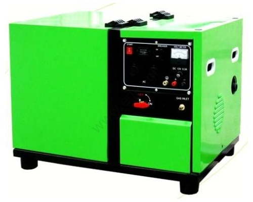 Γεννήτρια υγραερίου φυσικου αερίου 5kW, GREEN POWER D5000 ATS