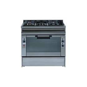 Kουζίνα αερίου μικτή, Smalvic PROF. 90 MT9 (90 εκ.)