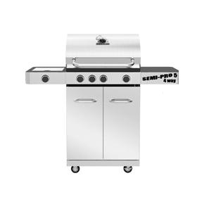 Ψησταριά αερίου Cook Master American BBQ SEMI PRO5 4way
