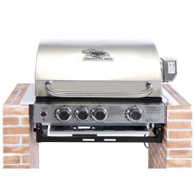 Εντοιχιζόμενη ψησταριά υγραερίου  Cook Master American BBQ SEMI PRO 5BI