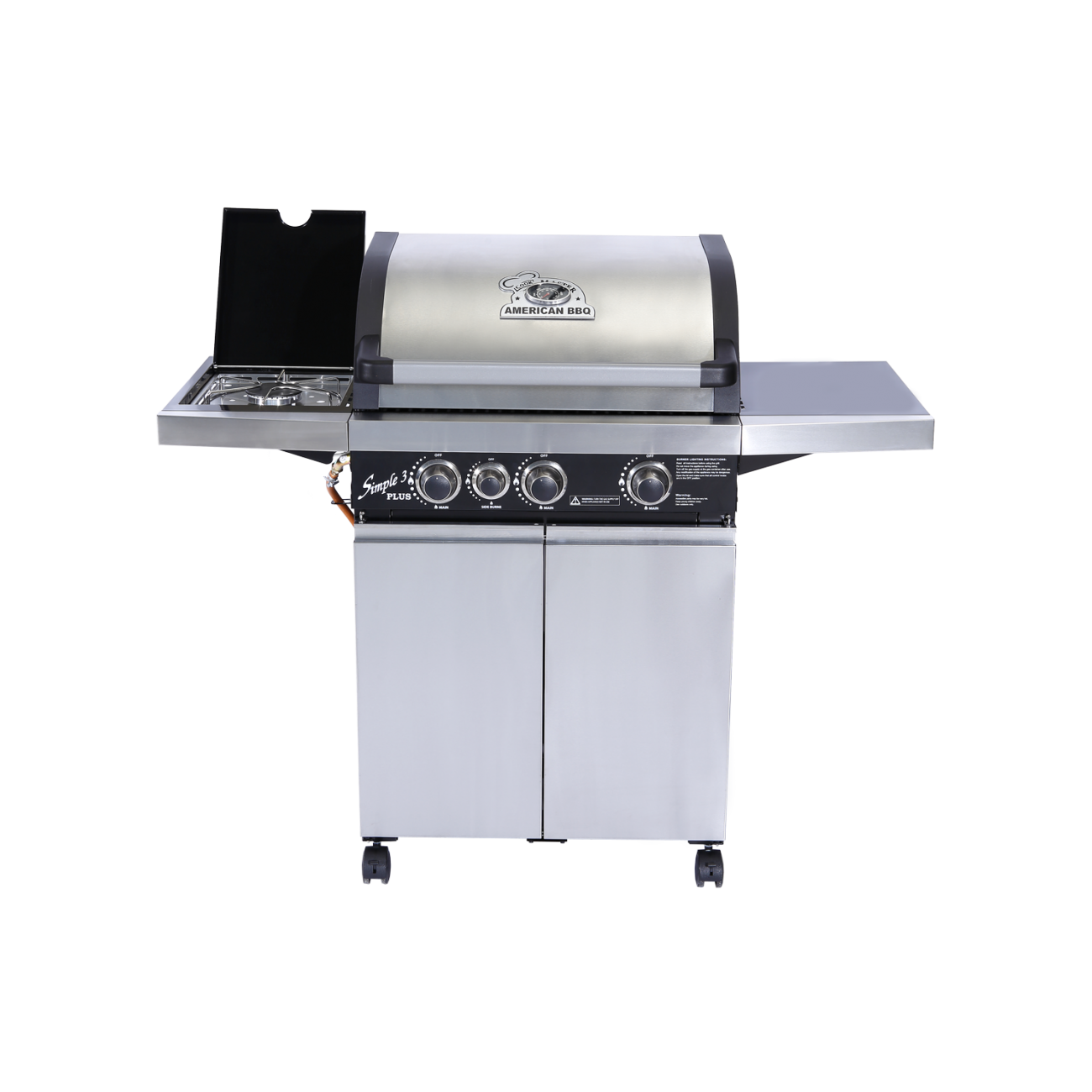 Cook master american bbq simple 3 plus - Avis barbecue naterial florida ...