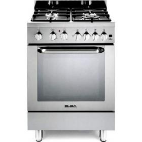 Κουζίνα φυσικού αερίου 60 εκ. ELBA made in ITALY, 6E EX 348-GR