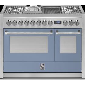 Κουζίνα αερίου μικτή Steel cucine GENESI