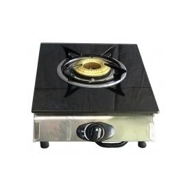 Επιτραπέζια εστία υγραερίου μονή κρύσταλλο COOK MASTER  JΥ-ΤΒ1001