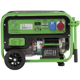 Τριφασική Γεννήτρια υγραερίου 7kW, Greengear GE 7000Τ