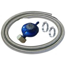 Λάστιχο υγραερίου BLENDAGE, ρυθμιστής, σφιγκτήρες για σύνδεση συσκευών με φιάλη