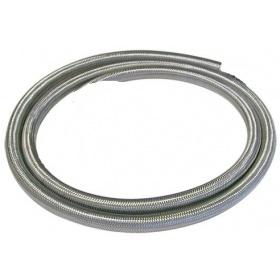Λάστιχο υγραερίου με πλέγμα ΙΝΟΧ για σύνδεση συσκευών με φιάλη 8mm (ανα μέτρο)