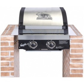 Εντοιχιζόμενη ψησταριά υγρερίου Cook Master American BBQ SIMPLE 2BI