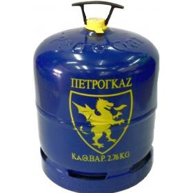 Φιάλη βουτανίου Πετρογκάζ, 3 κιλών, περιεχόμενο