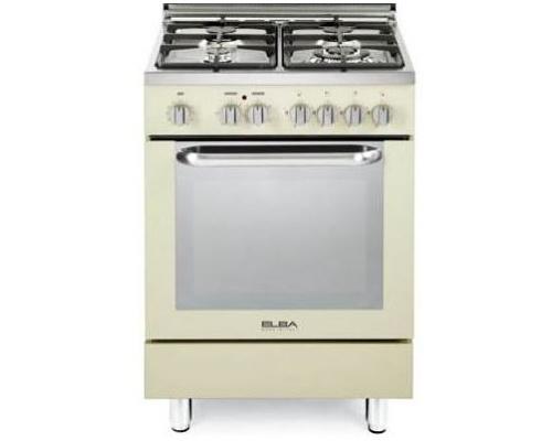 Κουζίνα φυσικού αερίου ELBA made in ITALY, CREAM 6E EC 348-GR
