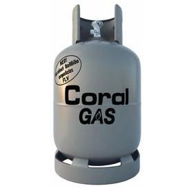 Φιάλη προπανίου Coral Gas® 13 κιλών, αγορά φιάλης και περιεχόμενου
