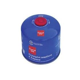 Φιαλίδιο βουτανίου 500 γραμμ. Coral Gas® με βαλβίδα ασφαλείας και σπείρωμα