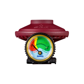 Ρυθμιστής πίεσης με δείκτη στάθμης για τη φιάλη Prime της Coral Gas®
