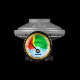 Ρυθμιστής πίεσης με δείκτη στάθμης για φιάλη Προπανίου Prime της Coral Gas®