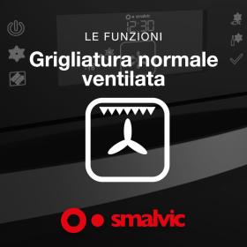 Φούρνος φυσικού αερίου υγραερίου, Iταλικός, αερόθερμος Smalvic FI.95 GEVTC PREMIUM S2
