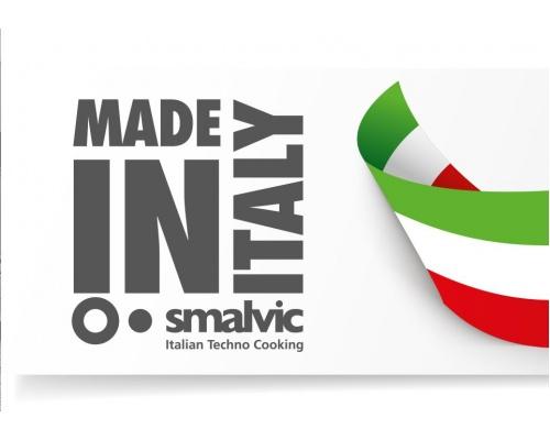 Εντοιχιζόμενη εστία φυσικού αερίου υγραερίου, Ιταλική, 75 εκ. Smalvic PFΤ.75 4G 1DC VS GG